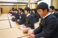 20150227卒業坐禅 (2).JPG
